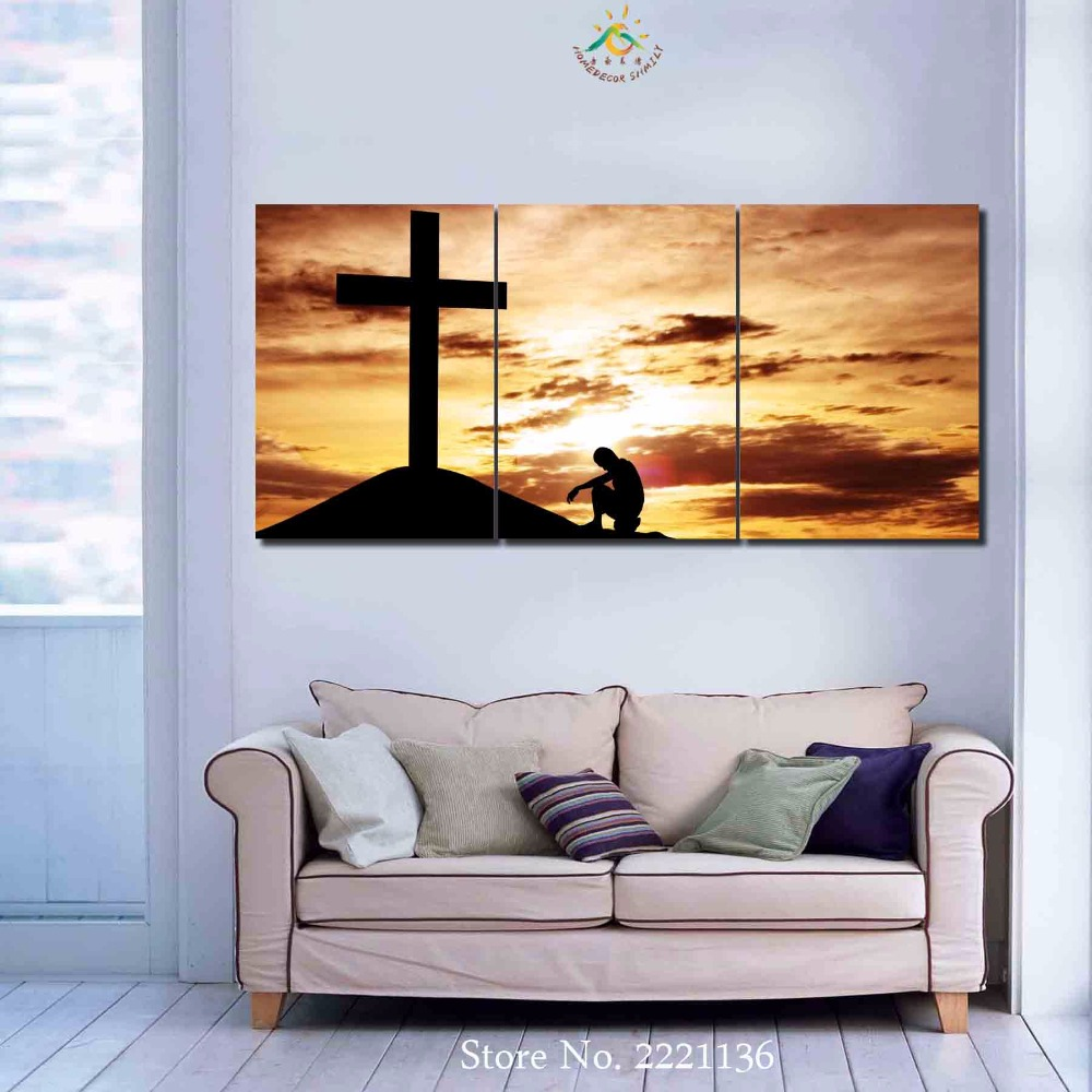 3 4 5 panelsset devout believers jesus new hd art canvas 3 4 5 panelsset devout believers jesus new hd art canvas painting print living room decorations for home wall art prints canvas solutioingenieria Image collections