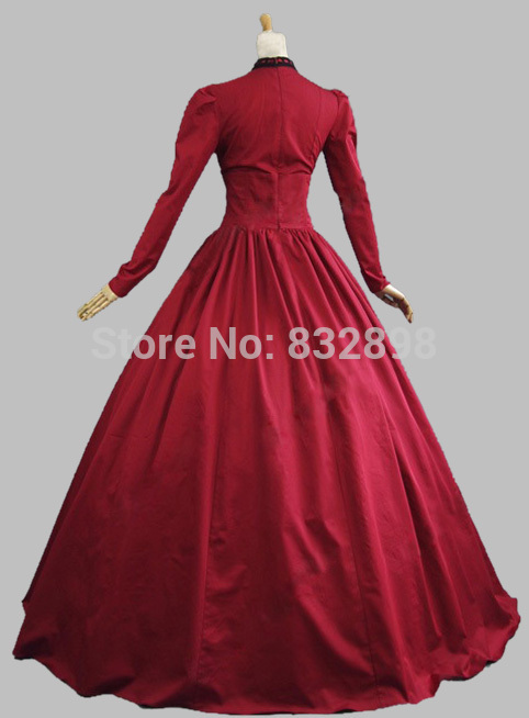 Theatrical Gown Vintage Dress