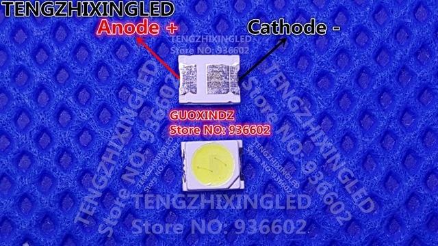 UNI  LED Backlight    1W  3V  1210  3528  2835  Cool white  MSL 628KSW   LCD Backlight for TV   TV Application