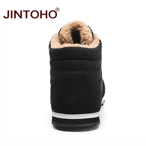 JINTOHO Big Size Unisex Winter Snow Shoes Brand Men Winter Boots Warm Snow Boots For Men Fashion Casual Male Shoes Ankle Boots Multan