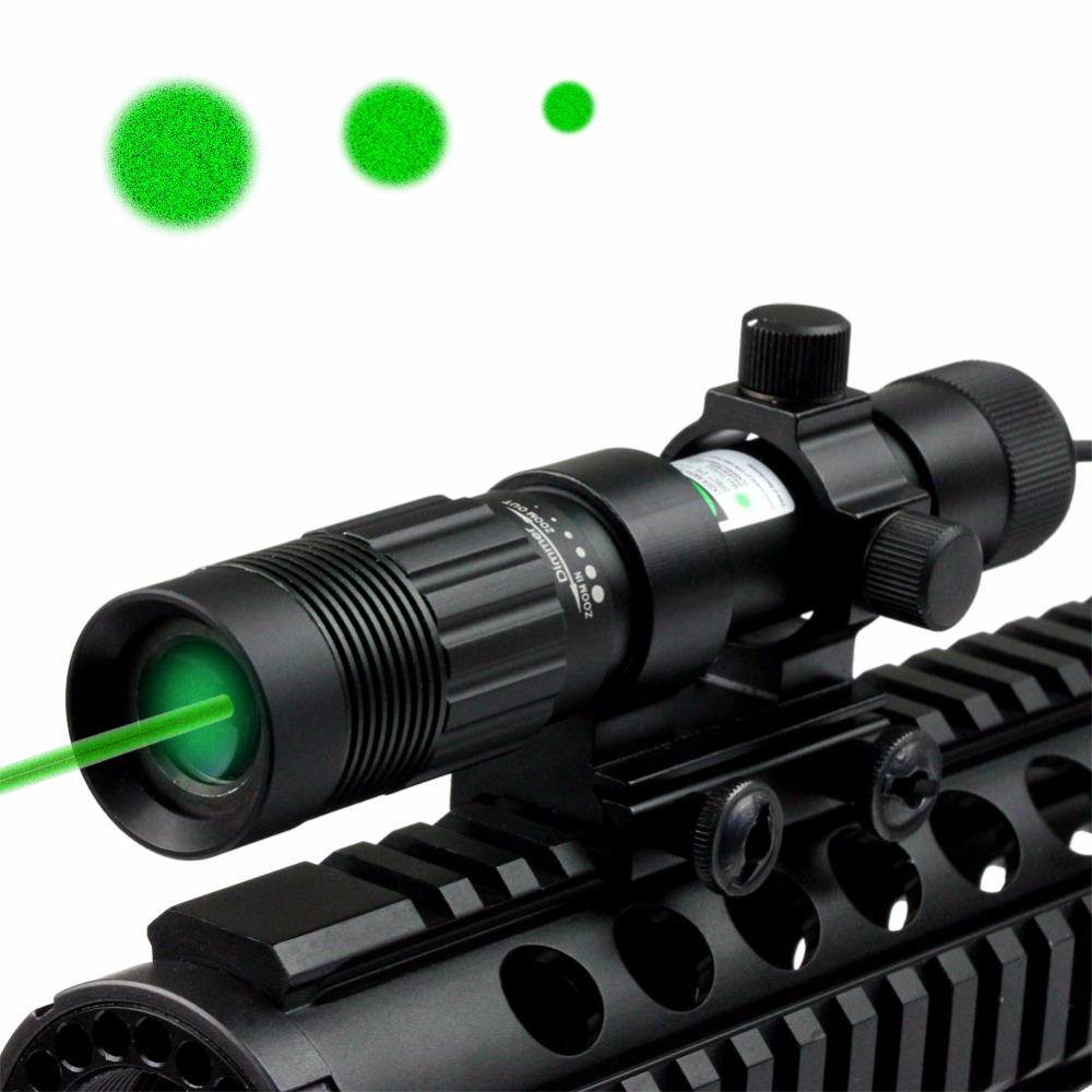 VERY100 NEW Adjustable Green Laser Sight Designator/Illuminator/Flashlight w/Weaver Mount Night Vision Hunter цена 2017