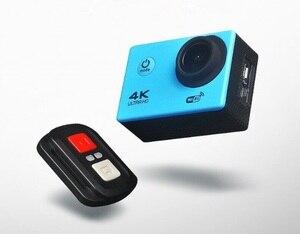 Image 2 - Remote Control Sport Wifi Camera 4K/30f 16MP Digital Video Recorder 30m Underwater Camera Waterproof Cam Helmet Camera ELECTSHON