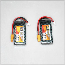 Original 11.1V 1500mAh Lipo battery Rechargeable ZOP 40C For RC Car Airplane Helicopter Part 2pcs