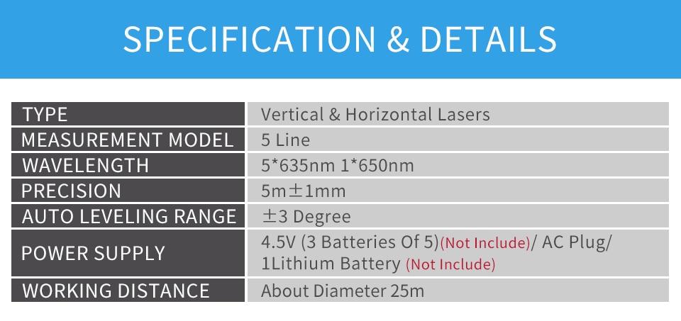 GOXAWEE лазерный уровень 360 градусов 3D зеленый красный крест линия лазерный уровень измерительные приборы Штатив для Nivel лазер 5 линий 6 точек