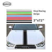 3 X72 183x8 Cm Car Truck SUV Racing Stripe Vinyl Pin Stripes Decals Stickers