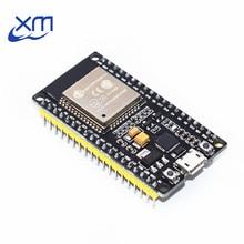 ESP-32 ESP32 беспроводной WiFi Bluetooth макетная плата 2,4 ГГц CP2102 микро USB двухъядерный модуль Nodemcu аналогичный ESP8266