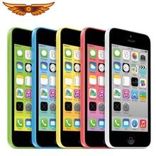 Apple iPhone 5C,, 4,0 дюймов, 8 ГБ/16 ГБ/32 ГБ rom, 1 ГБ ram, двухъядерный, 8 Мп камера, IOS, wifi, gps, Bluetooth, разблокированный смартфон