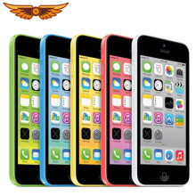 Apple Iphone 5C Originele 4.0 Inch 8Gb/16Gb/32Gb Rom 1Gb Ram Dual Core 8MP Camera Ios Wifi Gps Bluetooth Unlocked Smartphone