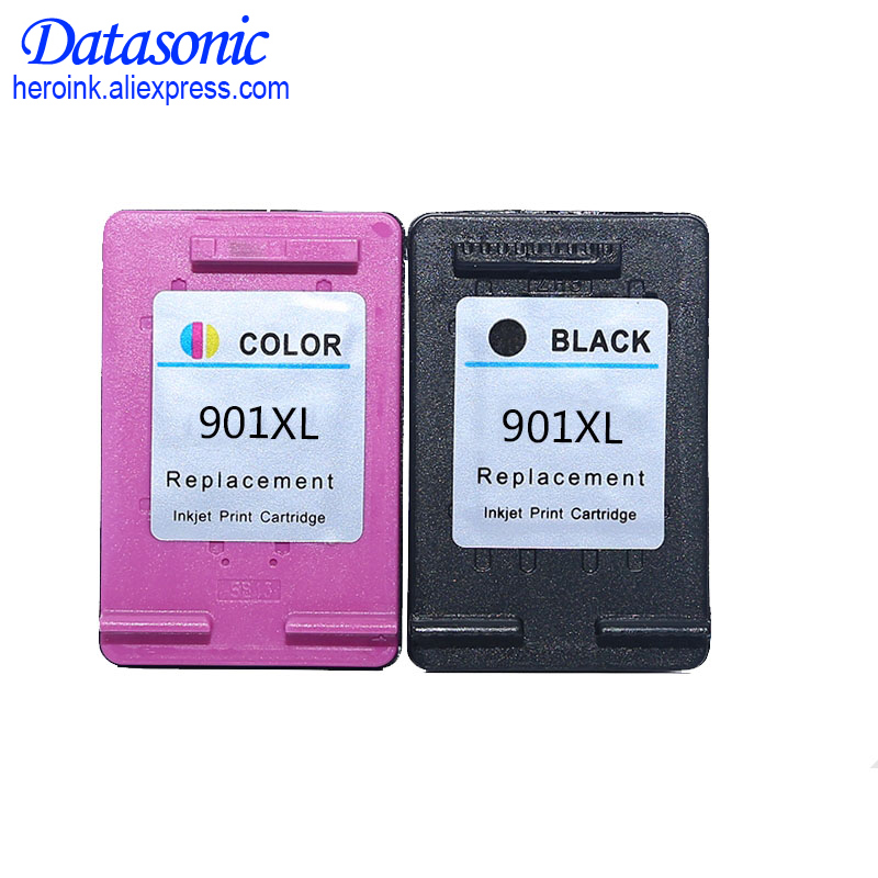 2PK <font><b>901</b></font> Cartridge Replacement for <font><b>HP</b></font> <font><b>901</b></font> <font><b>XL</b></font> Ink Cartridges for Officejet 4500 J4500 J4540 J4550 J4580 J4640 J4680c printers image