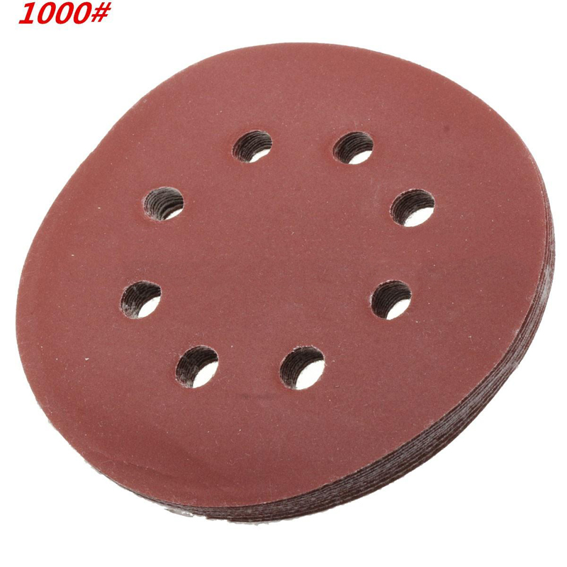 uxcell 5 Inch Wet Dry Sanding Discs 2000 Grit Hook and Loop Sanding Disc Silicon Carbide Sandpaper 3pcs