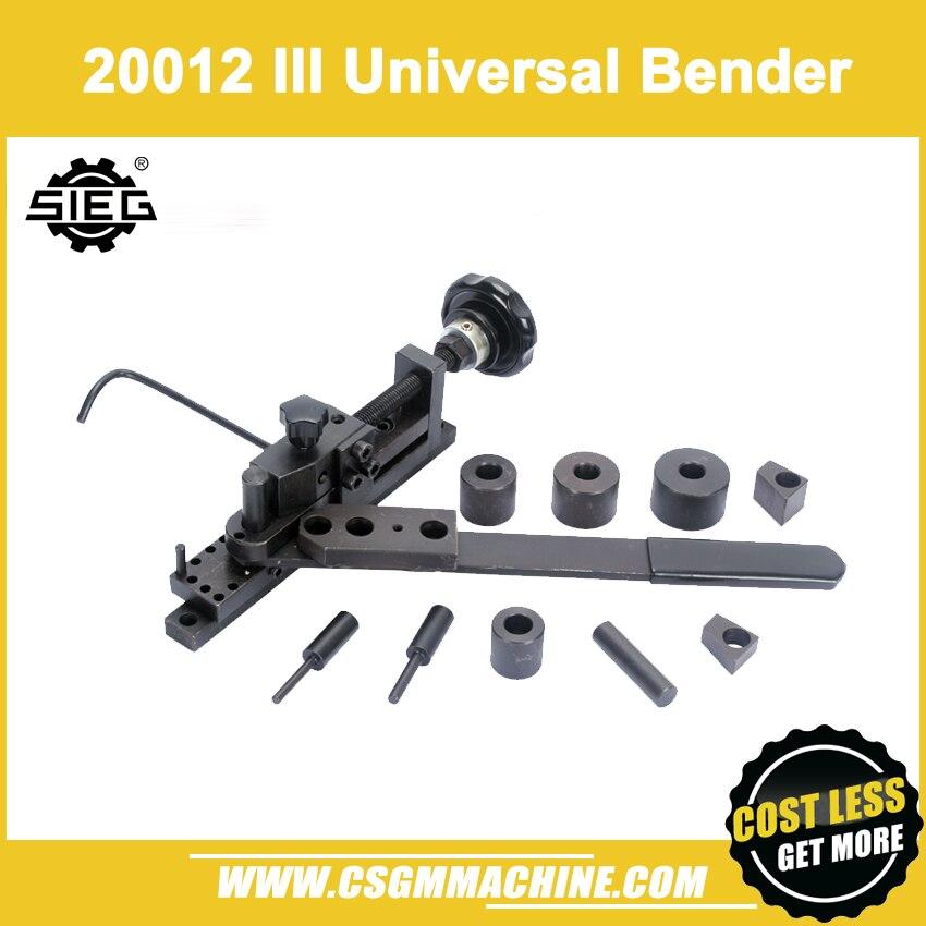 S N 20012 III Universal Bender SIEG Bending machine Update Bend machine Manual Bender