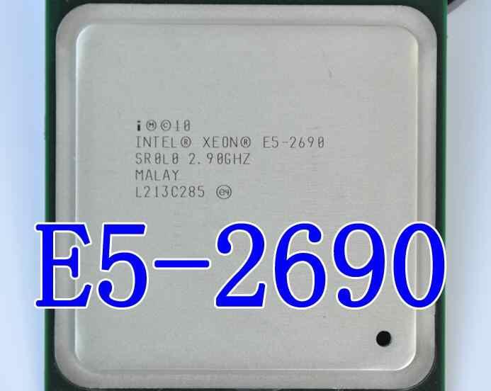 لوحة الأم HUANAN ZHI deluxe X79 LGA2011 مع فتحة M.2 NVMe CPU Xeon E5 2690 C2 2.9GHz مع برودة ذاكرة الوصول العشوائي 32G (4*8G) REG ECC