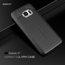 For Samsung Galaxy S7 Case Soft PU Leather Silicone Shockproof Anti-knock Case For Samsung Galaxy S7 Cover For Samsung S7 Case цена и фото