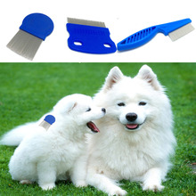 Aliexpress Com 2017 New Arrival 1pc Dog Flea Comb Steel Brush Hair Grooming Trimmer Cute Pet Cat From Reliable