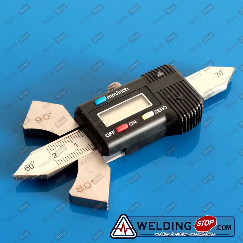 Digital Welding Gauge fillet weld gage for MIG/TIG/Stick weldiing - Welder Tools metric bridge cam welding gauge mg 8 weld gage inspection ws genuine