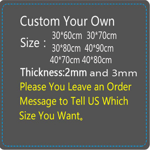 Image 5 - Yuzuoan Customize Support  Large Gaming Mouse Pad Locking Edge DIY Mousepad Speed Mouse Mat For CS GO League of Leg Dota 11 Size