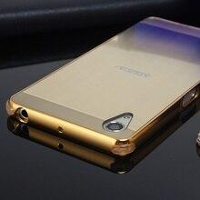 Ударопрочный Алюминиевый Бампер Металла Для Sony Xperia X Производительность XP/XA/X/XA1 Роскошный Телефон Кадров Чехол С Пластика Задняя Крышка