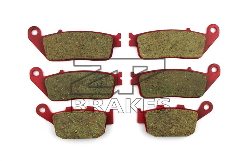 Brake Pads Ceramic For Front + Rear HONDA CBR 600 FAB (ONLY FAB Models) 2011-2013 OEM New High Quality ZPMOTO motorcycle brake pads ceramic composite for triumph 800 tiger 2011 2014 front rear oem new high quality zpmoto