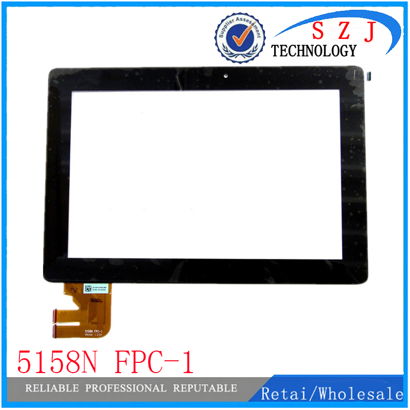 New 10.1'' inch For Asus Transformer Pad TF300T TF300 5158N FPC-1 Touch Screen Panel digitizer Free Shipping new for asus eee pad transformer prime tf201 version 1 0 touch screen glass digitizer panel tools