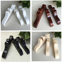 Screen Stand Solid Wood Base Partition Base Support Upright Stand Room Divider Bracket 1 Pack 3pieces