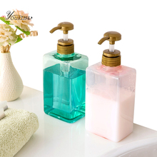 OYOURLIFE Creative Transparent Liquid Soap Dispensers Pump Shower Shampoo Bottle Hand Sanitizer Container Bathroom Accessories
