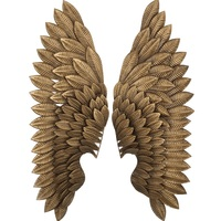 86cm(33.8) Tall Angel Wings / 2pcs Pair PACK / Metal Iron Wall Decor Art