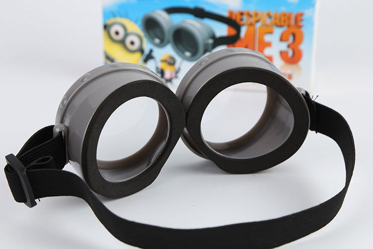 9b451a8696a Minions 3D Glasses Despicable Me 3 Cartoon Toys High Quality Plastic For  Children Cosplay Minion Glasses Kids Toys Free Shipping-in Men s Costumes  from ...
