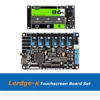 لوحة أم لطابعة ثلاثية الأبعاد Lerdge K 3.5 بوصة تعمل باللمس ARM 32 بت مجموعة لوحة التحكم مع سائق A4988/Drv8825/TMC2208/LV8729