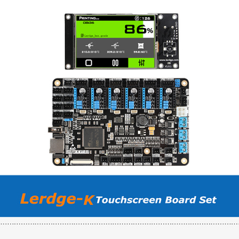 3D Printer Motherboard Lerdge K 3.5inch Touchscreen  ARM 32-bit Controller Board Set With A4988/Drv8825/TMC2208/LV8729 Driver - discount item  9% OFF Office Electronics