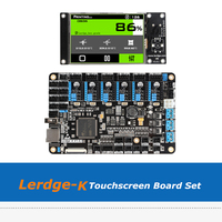3D Printer Motherboard Lerdge K 3.5inch Touchscreen ARM 32 bit Controller Board Set With A4988/Drv8825/TMC2208/LV8729 Driver
