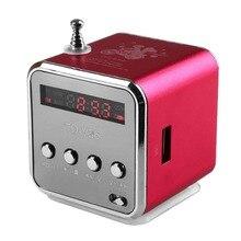 Recevier portátil mini digital radio fm ducha radio portatil recargable sd micro tf del disco del usb mp3 altavoz hoparlor