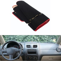 For Suzuki SX4 Without Time Display Car Dashboard Avoid Light Pad Instrument Platform Cover Mat Silicone