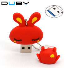 Rabbit USB Flash Drive 4GB 8GB 16GB 32GB High Speed 3.0 Pendrive Thumb Drive Stick