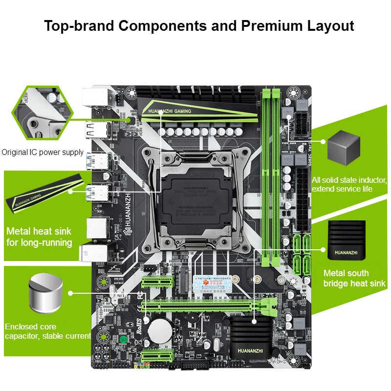 X99 motherboard slot LGA2011-3 USB3.0 NVME M.2 SSD support DDR4 REG ECC memory and Xeon E5 V3 V4 processor