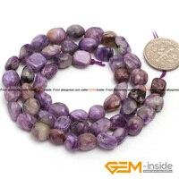 Jasper 6x8mm Freeform Potato Shape Purple Jasper Beads Natural Jasper DIY Loose Beads For Bracelet Making