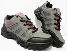 2017 Men hiking shoes comfortable men lace up sport shoes outdoor walking