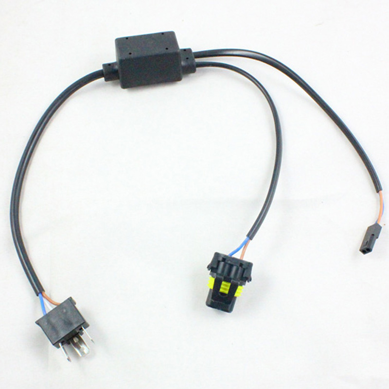 Good quality H4 wiring harness controller 9003 HB2 Hi lo Bi xenon cable wires for projector aliexpress com buy good quality h4 wiring harness controller hid 12v wiring harness controller at gsmportal.co