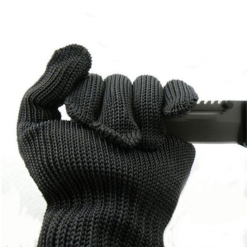 Safety Gloves Stainless Steel Wire protection cut-resistant gloves strong anti-scratch glass knife self-defense anti-knife glove anti anti cut knife cut armband anti scratch field necessary self defense products anti cut level 5