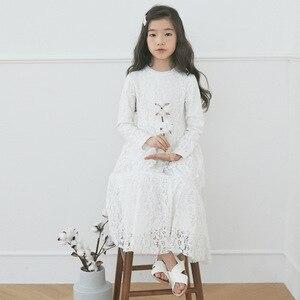 Image 2 - Платье принцессы для девочек 2020 г. Новая детская весенняя одежда детское нарядное платье красивое платье для мамы и ребенка, для малышей, подростков #5014