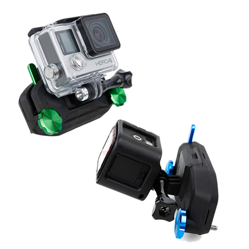 Sports Camera Clip for Gopro Hero 3/3+/4/5/6/Session/Xiaomi Yi/SJCAM Blue For Mini Sports Cam RC Qudcopter FPV Drone Parts