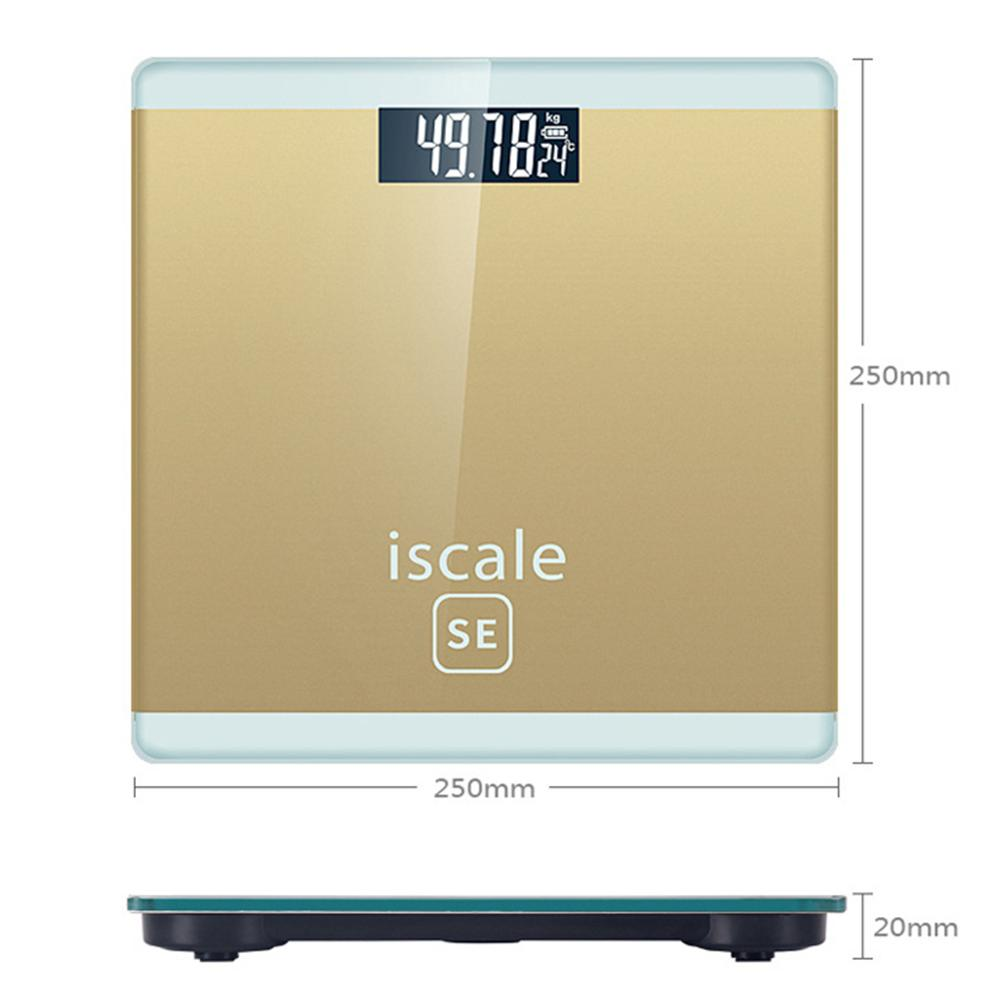 Electronic Scale Human Body Electronic Weighing Household Weighing Scale Accurate Adult Health Weighing in Bathroom Scales from Home Garden