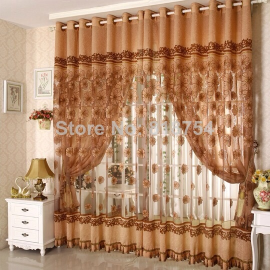 Home Textile Home Design Rustic Quality Carved Curtain Season Bottle Blind  Curtain Fabric Curtains For Windows Free Shipping Part 52