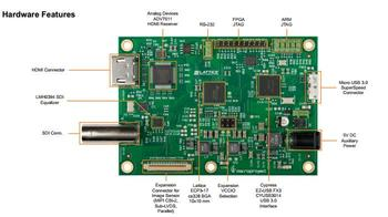 For LFE3-17EA-USB3-EVN development board Lattice USB3 Video Bridge Dev development board