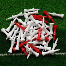 Free Shipping 100 pcs/bag Assorted 50mm Plastic Step Down Golf Tees Height Control, golf tee
