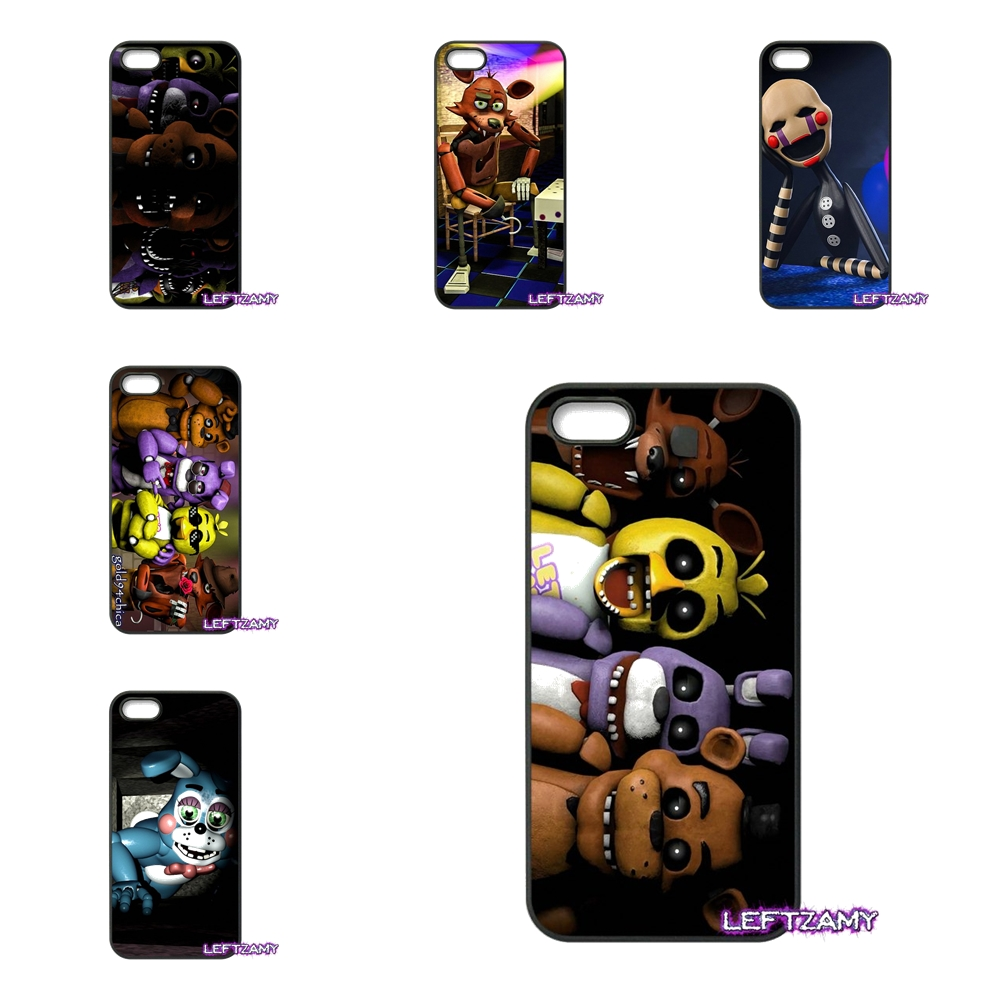 sfm fnaf animatronics Anime Hard Phone Case Cover For iPhone 4 4S 5 5C SE 6 6S 7 8 Plus X 4.7 5.5 iPod Touch 4 5 6