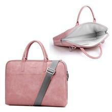 Newest Waterproof Laptop Bag 15.6 14 13  Notebook Sleeve Carry Case for MacBook Pro Air Messenger Shoulder Men Women