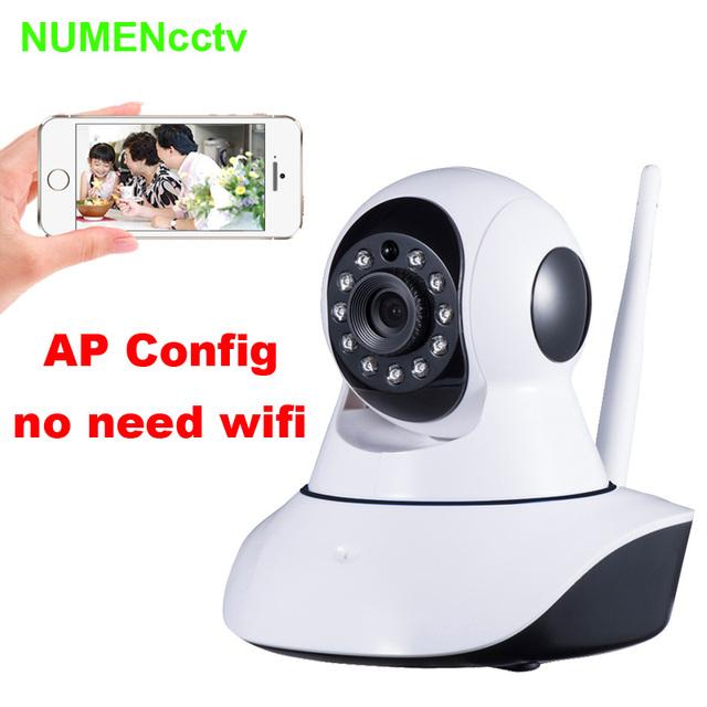 HD 720 p de Vídeo Babyphone gegensprechanlage Control Remoto Inalámbrico Bebé Monitor Con Visión Nocturna y de Voz WIFI Cámara de Red IP