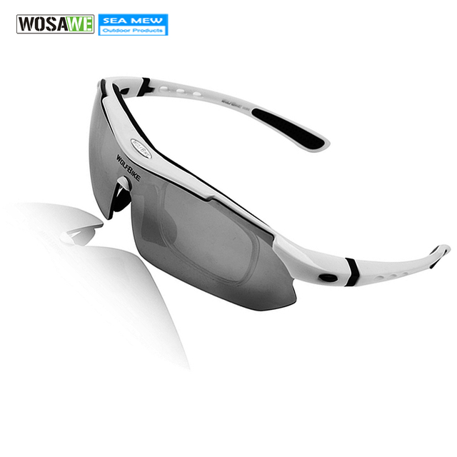 7ed74d066a1 WOLFBIKE Women s Men s Mountain Bike Sunglasses Bicycle Sports Moypia Frame  Glasses Cycling Wear for Outdoor Fishing Riding