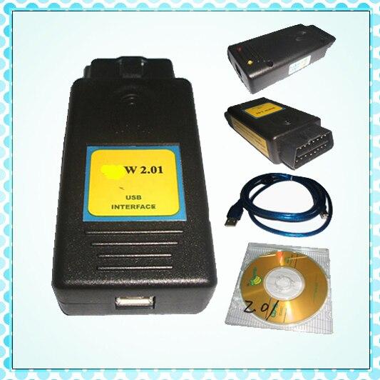 Цена за 2017 Лидер продаж Профессиональный инструмент диагностики для BMW V2.0.1 PA мягкой для bmw код читателя PA 2.01 pasoft инструмент автоматического сканирования PA2.01