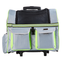 כלב חתול חיות מחמד ניידת תיק מטען גלגל רולינג תרמיל נסיעות חברת התעופה